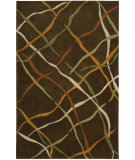 RugStudio presents Nourison Dimensions ND-23 Brown Hand-Tufted, Better Quality Area Rug