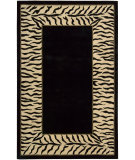RugStudio presents Nourison Dimensions ND-25 Black Hand-Tufted, Better Quality Area Rug