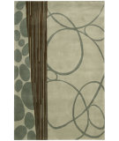 RugStudio presents Nourison Dimensions ND-29 Maroon Hand-Tufted, Better Quality Area Rug