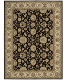 RugStudio presents Rugstudio Sample Sale 95673R Black Machine Woven, Best Quality Area Rug