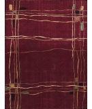 RugStudio presents Nourison Parallels PR-01 Red Machine Woven, Better Quality Area Rug