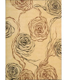 RugStudio presents Nourison Parallels PR-22 Ivory Machine Woven, Better Quality Area Rug