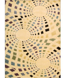 RugStudio presents Nourison Parallels PR-23 Ivory Machine Woven, Better Quality Area Rug
