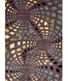 RugStudio presents Nourison Parallels PR-23 Lavender Machine Woven, Better Quality Area Rug
