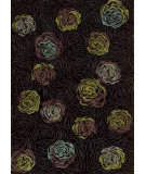 RugStudio presents Nourison Parallels PR-24 Black Machine Woven, Better Quality Area Rug