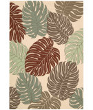 RugStudio presents Nourison Rainforest RAI02 Beige Hand-Tufted, Good Quality Area Rug