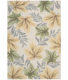RugStudio presents Nourison Rainforest RAI04 Beige Hand-Tufted, Good Quality Area Rug