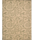 RugStudio presents Nourison Riviera RI-03 Light Gold Machine Woven, Best Quality Area Rug