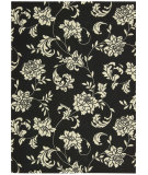 RugStudio presents Nourison Home and Garden RS-014 Black Machine Woven, Good Quality Area Rug