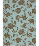 RugStudio presents Nourison Home and Garden RS-014 Light Blue Machine Woven, Good Quality Area Rug