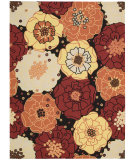 RugStudio presents Nourison Home and Garden RS-021 Black Machine Woven, Good Quality Area Rug