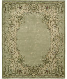 RugStudio presents Nourison Chateau Provence SB-01 Light Green Hand-Tufted, Best Quality Area Rug