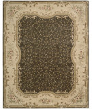 RugStudio presents Nourison Chateau Provence SB-11 Brown Hand-Tufted, Best Quality Area Rug