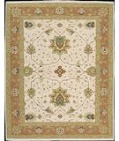 RugStudio presents Rugstudio Famous Maker 39576 Ivory Hand-Knotted, Better Quality Area Rug
