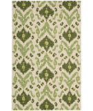 RugStudio presents Nourison Siam SIA-01 Ivory Green Hand-Tufted, Best Quality Area Rug