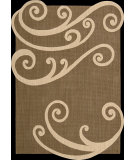 RugStudio presents Nourison Silhouettes SIL-02 Chocolate Machine Woven, Good Quality Area Rug