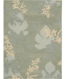 RugStudio presents Nourison Skyland SKY-01 Green Hand-Tufted, Better Quality Area Rug