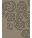 RugStudio presents Nourison Skyland SKY-03 Beige-Grey Hand-Tufted, Better Quality Area Rug