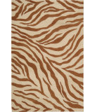RugStudio presents Nourison Skyland SKY-05 Ivory-Rust Hand-Tufted, Better Quality Area Rug