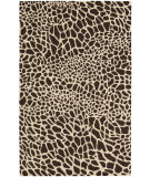 RugStudio presents Nourison Skyland SKY-06 Brown-Ivory Hand-Tufted, Better Quality Area Rug