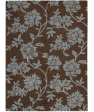 RugStudio presents Nourison Skyland SKY-07 Chocolate Hand-Tufted, Better Quality Area Rug