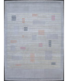 RugStudio presents Nourison Spectrum SP04 Grey Hand-Tufted, Best Quality Area Rug