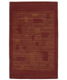 RugStudio presents Nourison Spectrum SP04 Rust Hand-Tufted, Best Quality Area Rug