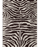 RugStudio presents Nourison Splendor SPL-17 Black-White Machine Woven, Good Quality Area Rug