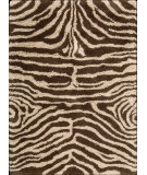 RugStudio presents Nourison Splendor SPL-17 Ivory-Brown Machine Woven, Good Quality Area Rug
