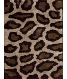 RugStudio presents Nourison Splendor SPL-18 Beige-Black Machine Woven, Good Quality Area Rug