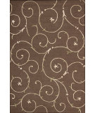 RugStudio presents Nourison Sorrento SR-05 Chocolate Machine Woven, Good Quality Area Rug