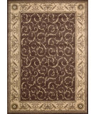 RugStudio presents Nourison Somerset St02 Brown Machine Woven, Good Quality Area Rug