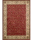 RugStudio presents Nourison Somerset St02 Red Machine Woven, Good Quality Area Rug