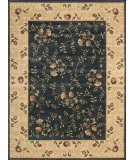 RugStudio presents Nourison Somerset ST-05 Navy Machine Woven, Good Quality Area Rug