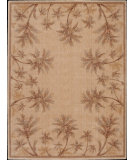 RugStudio presents Nourison Somerset ST-46 Beige Machine Woven, Good Quality Area Rug