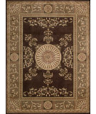 RugStudio presents Nourison Somerset ST-56 Brown Machine Woven, Good Quality Area Rug