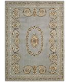 RugStudio presents Nourison Somerset ST-58 Light Blue Machine Woven, Good Quality Area Rug