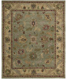 RugStudio presents Nourison Tahoe TA-03 Green Hand-Knotted, Best Quality Area Rug