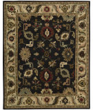 RugStudio presents Nourison Tahoe TA-08 Black Hand-Knotted, Best Quality Area Rug