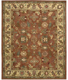 RugStudio presents Nourison Tahoe TA-10 Rust Hand-Knotted, Best Quality Area Rug