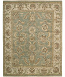 RugStudio presents Nourison Tajik TJ-01 Green Hand-Knotted, Better Quality Area Rug