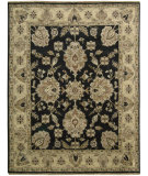 RugStudio presents Nourison Tajik TJ-03 Black Hand-Knotted, Better Quality Area Rug