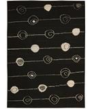 RugStudio presents Rugstudio Famous Maker 39580 Black Hand-Tufted, Best Quality Area Rug