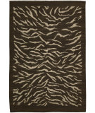 RugStudio presents Nourison Taos TOS-3 Brown Flat-Woven Area Rug