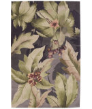 RugStudio presents Nourison Tropics TS-03 Plum Hand-Tufted, Best Quality Area Rug