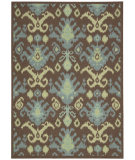 RugStudio presents Nourison Vista VIS-20 Chocolate Machine Woven, Good Quality Area Rug