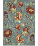 RugStudio presents Nourison Vista VIS-51 Blue Machine Woven, Good Quality Area Rug