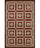RugStudio presents Nourison Versailles Palace VP-09 Red Hand-Tufted, Good Quality Area Rug