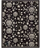 RugStudio presents Nourison Versailles Palace VP-49 Black Hand-Tufted, Best Quality Area Rug