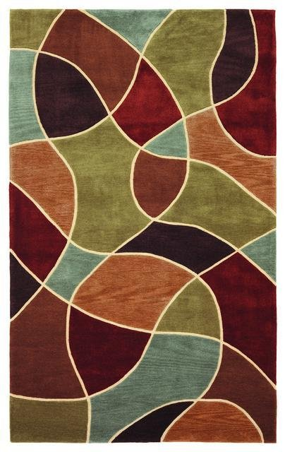 828 Mirage Collection 3-0567-99 Multi Area Rug - 45286